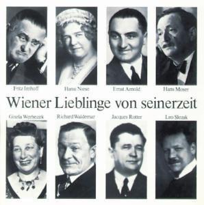Wiener Lieblinge Von Seinerzei, Arnold, Imhoff, Moser, Niese