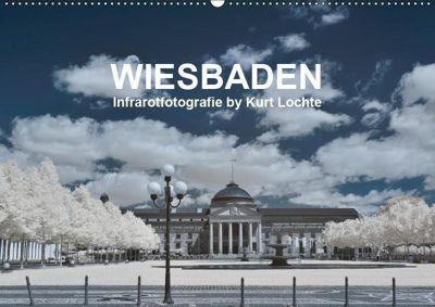 WIESBADEN - Infrarotfotografie by Kurt Lochte (Wandkalender 2019 DIN A2 quer), Kurt Lochte