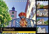 Wiesloch - Spaziergang durch die Altstadt (Tischkalender 2019 DIN A5 quer), Claus Liepke