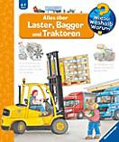 Wieso? Weshalb? Warum? Band 38: Alles über Laster, Bagger und Traktoren, Andrea Erne, Wolfgang Metzger