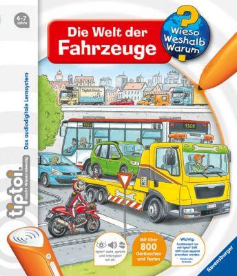 Wieso? Weshalb? Warum? tiptoi® Band 12: Die Welt der Fahrzeuge - Daniela Betz pdf epub