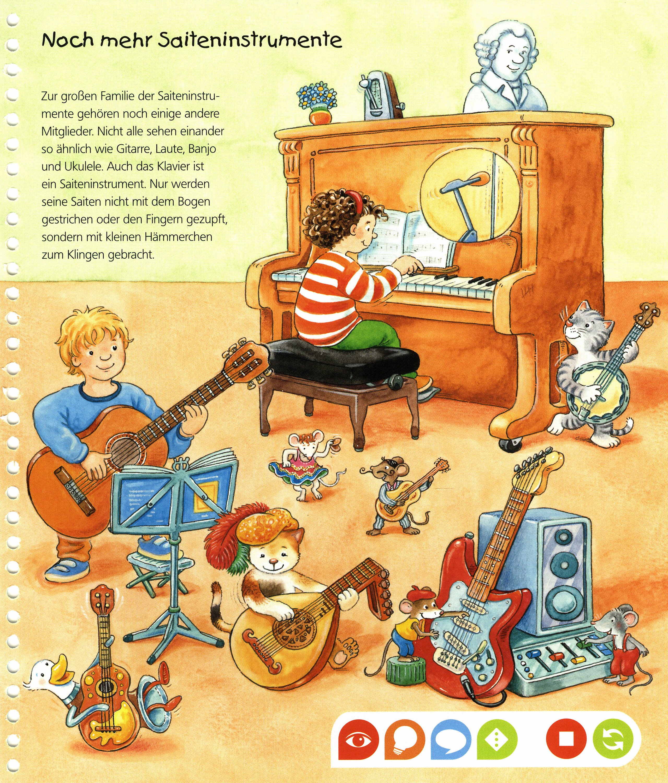 Wieso? Weshalb? Warum? tiptoi® Band 3: Die Welt der Musik ...