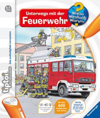 Wieso? Weshalb? Warum? tiptoi® Band 6: Unterwegs mit der Feuerwehr - Daniela Betz |