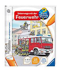 Wieso? Weshalb? Warum? tiptoi® Band 6: Unterwegs mit der Feuerwehr - Produktdetailbild 1