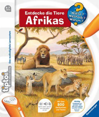 Wieso? Weshalb? Warum? tiptoi® Band 9: Entdecke die Tiere Afrikas, Inka Friese