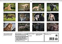 Wild animals from around the world (Wall Calendar 2019 DIN A3 Landscape) - Produktdetailbild 13