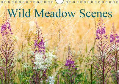 Wild Meadow Scenes (Wall Calendar 2019 DIN A4 Landscape), Neil Davies