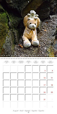 Wild Teddy bears (Wall Calendar 2019 300 × 300 mm Square) - Produktdetailbild 8