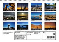 WILD WILD WEST / UK-Version (Wall Calendar 2019 DIN A3 Landscape) - Produktdetailbild 13