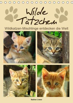 Wilde Tätzchen (Tischkalender 2019 DIN A5 hoch), Sabine Löwer
