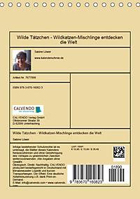 Wilde Tätzchen (Tischkalender 2019 DIN A5 hoch) - Produktdetailbild 13