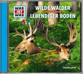 Wilde Wälder/ Lebendiger Boden, Audio-CD, Manfred Baur
