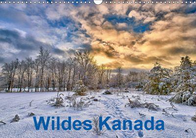Wildes Kanada (Wandkalender 2019 DIN A3 quer), Atlantismedia