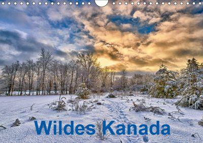 Wildes Kanada (Wandkalender 2019 DIN A4 quer), Atlantismedia