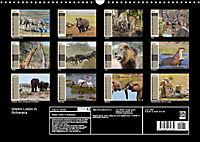 Wildes Leben in Botswana (Wandkalender 2019 DIN A3 quer) - Produktdetailbild 13