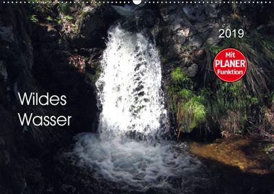 Wildes Wasser (Wandkalender 2019 DIN A2 quer), Angelika keller