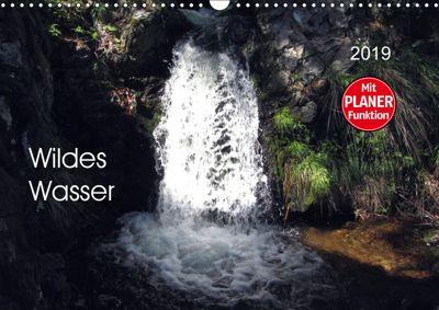 Wildes Wasser (Wandkalender 2019 DIN A3 quer), Angelika Keller
