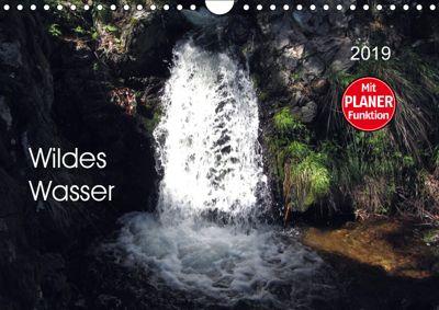 Wildes Wasser (Wandkalender 2019 DIN A4 quer), Angelika keller