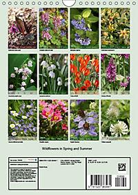 Wildflowers in Spring and Summer (Wall Calendar 2019 DIN A4 Portrait) - Produktdetailbild 13