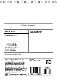 Wildkatzen - scheue Jäger (Tischkalender 2019 DIN A5 hoch) - Produktdetailbild 2
