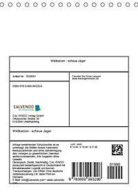 Wildkatzen - scheue Jäger (Tischkalender 2019 DIN A5 hoch) - Produktdetailbild 13