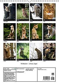 Wildkatzen - scheue Jäger (Wandkalender 2019 DIN A3 hoch) - Produktdetailbild 3