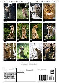 Wildkatzen - scheue Jäger (Wandkalender 2019 DIN A4 hoch) - Produktdetailbild 13