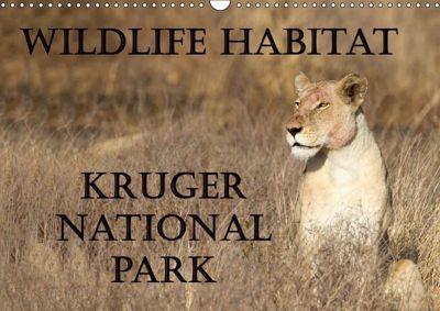 Wildlife Habitat Kruger National Park (Wall Calendar 2019 DIN A3 Landscape), Angelika Stern
