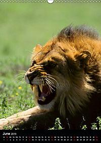Wildlife in the African Savannah (Wall Calendar 2019 DIN A3 Portrait) - Produktdetailbild 6