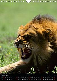 Wildlife in the African Savannah (Wall Calendar 2019 DIN A4 Portrait) - Produktdetailbild 6