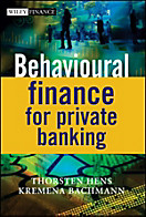 Wiley Finance Series: Behavioural Finance for Private Banking