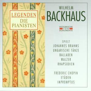 Wilhelm Backhaus, Wilhelm Backhaus