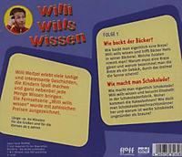 Willi wills wissen, Audio-CDs: Folge.1 Wie backt der Bäcker? / Wie macht man Schokolade, 1 Audio-CD - Produktdetailbild 1