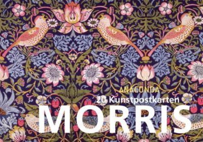 William Morris Postkartenbuch, William Morris