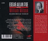 William Wilson, 1 Audio-CD - Produktdetailbild 1
