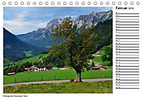Willkommen im Bergsteigerdorf Ramsau (Tischkalender 2019 DIN A5 quer) - Produktdetailbild 2