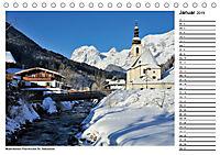 Willkommen im Bergsteigerdorf Ramsau (Tischkalender 2019 DIN A5 quer) - Produktdetailbild 1