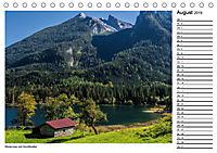 Willkommen im Bergsteigerdorf Ramsau (Tischkalender 2019 DIN A5 quer) - Produktdetailbild 8
