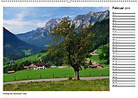 Willkommen im Bergsteigerdorf Ramsau (Wandkalender 2019 DIN A2 quer) - Produktdetailbild 2