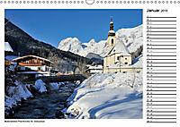 Willkommen im Bergsteigerdorf Ramsau (Wandkalender 2019 DIN A3 quer) - Produktdetailbild 1