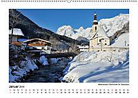 Willkommen im Bergsteigerdorf Ramsau (Wandkalender 2019 DIN A2 quer) - Produktdetailbild 1