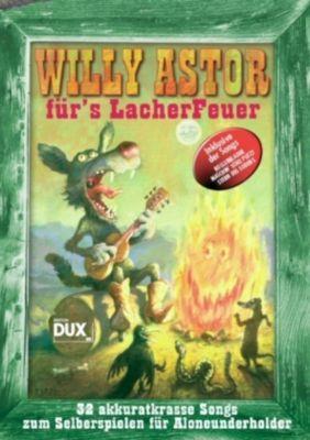 Willy Astor für's Lacher Feuer, Gitarre und Gesang, Willy Astor