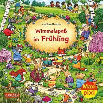 Wimmelspaß im Frühling - Joachim Krause pdf epub