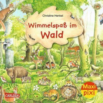 Wimmelspass im Wald