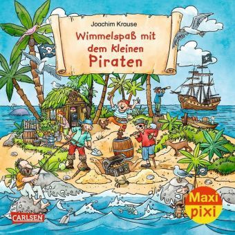 Wimmelspass mit dem kleinen Piraten
