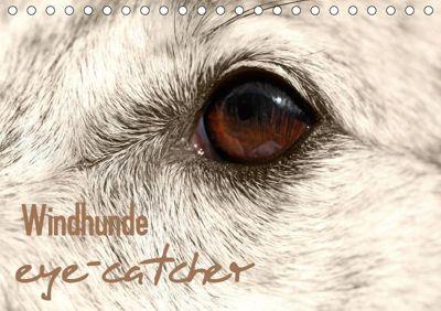 Windhunde eye-catcher (Tischkalender 2019 DIN A5 quer), Andrea Redecker, 4pfoten-design - Andrea Redecker