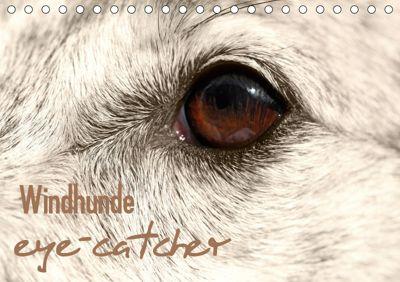 Windhunde eye-catcher (Tischkalender 2019 DIN A5 quer), Andrea Redecker