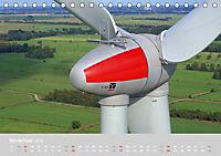 Windkraftanlagen aus der Luft fotografiert (Tischkalender 2019 DIN A5 quer) - Produktdetailbild 11