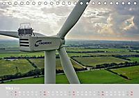 Windkraftanlagen aus der Luft fotografiert (Tischkalender 2019 DIN A5 quer) - Produktdetailbild 3