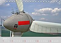 Windkraftanlagen aus der Luft fotografiert (Tischkalender 2019 DIN A5 quer) - Produktdetailbild 1